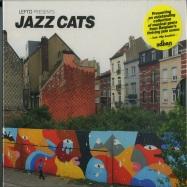 Front View : Various Artist - LEFTO PRESENTS JAZZ CATS (CD) - sdban ultra / sdbanucd06