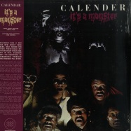 Front View : Calender - ITS A MONSTER (LTD LP) - Tidal Waves / TWM21