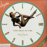 Front View : Kylie Minogue - STEP BACK IN TIME: THE DEFINITIVE COLLECTION (BLACK 2LP + MP3) - BMG / 405053848421