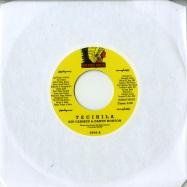 Front View : Kip Carmen & Danny Horton - TECIHILA / THOUGHTS OF LOVING YOU (7 INCH) - Izipho Soul / ZP26