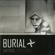 Front View : Burial - UNTRUE (180G 2X12 LP + MP3 / 2016 REPRESS) (B-STOCK) - Hyperdub / hdblp002