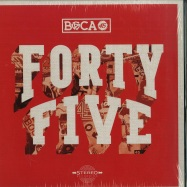 Front View : Boca 45 - FORTY FIVE (LTD RED LP + CD) - Mass Appeal / MSAP007RED