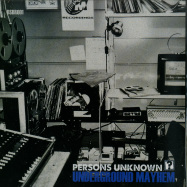 Front View : Persons Unknown - UNDERGROUND MAYHEM / NEEDS MORE BASS - Blueskinbadger Records / BSBR001