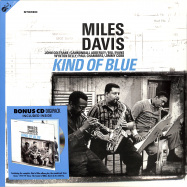 Front View : Miles Davis - KIND OF BLUE (+ BONUS CD) - Groove Replica / 77012 / 9655995