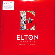 Front View : Elton John - JEWEL BOX: RARITIES AND B-SIDES (180G 3LP + MP3) - Mercury / 0731460