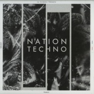 Front View : Various Artists - NATION TECHNO: FRANCE (2X12 INCH) - La Chinerie / LCNT001