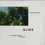 Front View : Calvin Harris ft. Frank Ocean & Migos - SLIDE - Columbia / 88985450771