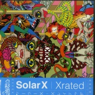 Front View : Solar X - X-RATED (2LP) - Galaxiid / GXD002