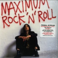 Front View : Primal Scream - MAXIMUM ROCK N ROLL: THE SINGLES VOLUME 1 (180G 2LP + MP3) - Sony / 88985486441