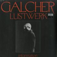 Front View : Galcher Lustwerk - INFORMATION (LTD SMOKE BLUE LP) - Ghostly International / GI351C / 00137012