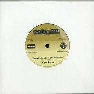 Front View : Kan Sano - EVERYBODY LOVES / MUSIC OVERFLOW (7 INCH) - Razor N Tape / RNT45001