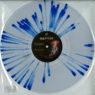 Front View : Pierrox - SAD DEEPNESS (NUTIA, SHCAA REMIXES) (BLUE SPLATTERED VINYL) - Schyzoophrenic Records / PIERROX001