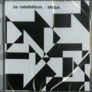 Front View : Os Catedraticos - ATAQUE (CD) - Far Out Recordings  / FARO207CD