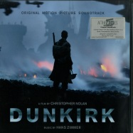 Front View : Hans Zimmer - DUNKIRK - O.S.T. (LTD BLUE 180G 2LP) - At The Movies / MOVATM171