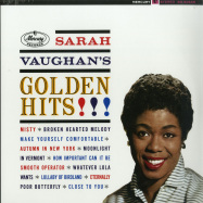 Front View : Sarah Vaughan - GOLDEN HITS (LTD GOLDEN LP) - Verve / 7788713
