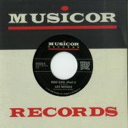 Front View : Lee Moses - BAD GIRL (PARTS I & II) (7 INCH) - Vampisoul / VAMPI45060 / 00136996