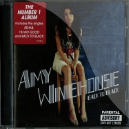 Front View : Amy Winehouse - BACK TO BLACK (CD) - Universal / 1713041