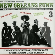 Front View : Various Artists - NEW ORLEANS FUNK 3 (2LP) - Soul Jazz Records / SJRLP268