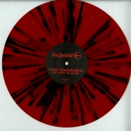 Front View : Cari Lekebusch - RETURN TO BASE (RED BLACK SPLATTER VINYL) - H-Productions / HYB027