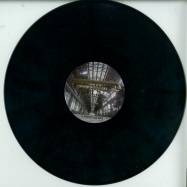Front View : I.N.D. - PEUR BLEUE 15 (COLOURED VINYL) - Peur Bleue / peurbleue015