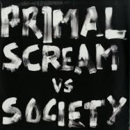 Front View : Primal Scream vs Society - WILL TO WIN / GLUG - Virgin / vst2135
