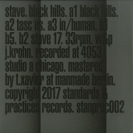 Front View : Stave - BLACK HILLS - Standards & Practices / STANDPRAC02