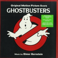 Front View : Elmer Bernstein - GHOSTBUSTERS O.S.T. (CLEAR & SLIME 2LP) - Sony / 19075950021