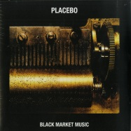 Front View : Placebo - BLACK MARKET MUSIC (LP) - Elevator Lady Limited / 6711044