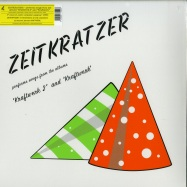 Front View : Zeitkratzer - ZEITKRATZER PERFORMS SONGS FROM THE ALBUMS KRAFTWERK 2 AND KRAFTWERK - Karlrecords / KR069