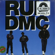Front View : Run DMC - TOUGHER THAN LEATHER (BLUE LP) - Get On Down / GET51320LP