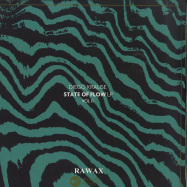 Front View : Diego Krause - STATE OF FLOW LP (PART 2) - LTD GREEN EDITION - RAWAX / RAWAX-S00.2G