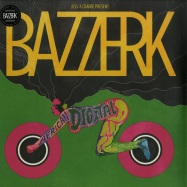 Front View : Jess & Crabbe Present Bazzerk - AFRICAN DIGITAL DANCE (2X12 INCH LP + MP3) - Mental Groove / mg022lp