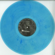 Front View : Van Bonn - DUNNING KRUGER (CTRLS RMX / MARBLED BLUE VINYL) - Kontakt Records / KNT-2