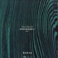 Front View : Diego Krause - STATE OF FLOW LP (PART 1) - LTD GREEN EDITION - RAWAX / RAWAX-S00.1G