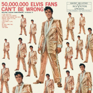 Front View : Elvis Presley - 50.000.000 ELVIS FANS CANT BE WRONG: ELVIS GOLD (LP) - Rca Int. / 19439709561