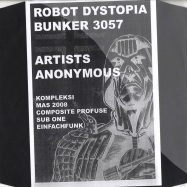 Front View : Various Artists - ARTISTS ANONYMOUS - Bunker 3057