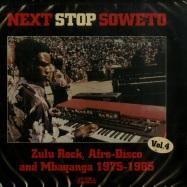 Front View : Various Artists - NEXT STOP SOWETO 4 (CD) - Strut Records / Strut121CD