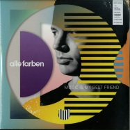 Front View : Alle Farben - MUSIC IS MY BEST FRIEND (COLOURED 2X12 LP + CD) - Polytope / 88985320271