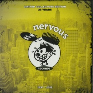 Front View : V/A (Kerri Chandler, NuYorican Soul, Classic Man, Kim Emglish...) - NERVOUS 25TH ANNIVERSARY (2LP) - Nervous / NER23988