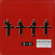 Front View : Kraftwerk - 3-D THE CATALOGUE (9X12 LP BOX SET + MP3) - Parlophone / 0190295923518