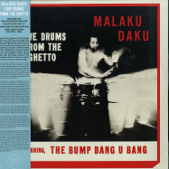 Front View : Malaku Daku - LOVE DRUMS FROM THE GHETTO (LP) - Tidal Waves Music / TWM039 / 00137044