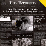 Front View : Los Hermanos (Gerald Mitchell, Billy Love, Bob Rogue) - ANOTHER DAY/ BINARY FUNK INFUSION/ LET LOVE LIVE - Mother Tongue Records / MT19008