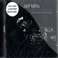 Front View : Jeff Mills Live With Montellier Philharmonic Orchestra - BLUE POTENTIALS (Spezial CD & DVD) - Tresor223bonus
