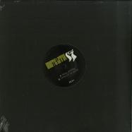Front View : Mystic Letter K (Cari Lekebusch) - SOUL STORM (BLACK WHITE SPLATTER) - MLK / MLK1
