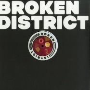 Front View : Various Artists - BROKEN DISTRICT 03 - Broken District / BKD003