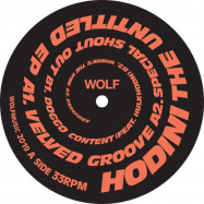 Front View : Hodini - THE UNTITLED EP - Wolf Music / WOLFEP053