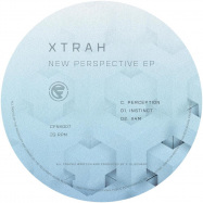 Front View : Xtrah - NEW PERSPECTIVE EP (C/D SIDE / BLACK VINYL) - Cyberfunk / CFNK007CD