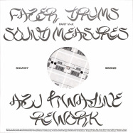 Front View : Fazer Drums - SOUND MEASURES (AZU TIWALINE REWORK) - Squama / SQM007