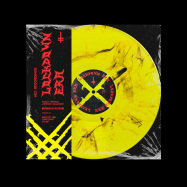 Front View : Paolo Ferrara, Lorenzo Raganzini - LOCKDOWN ERA (2X12 / YELLOW BLACK MARBLED VERSION) - HEX Recordings / XXX0001