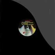 Front View : Inland Knights, Giom, Robert Boogert - HOUSE BOUND SAMPLER 01 - Drop Music / drophb01